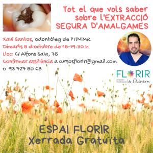 ESPAI FLORIR - Tot el que vols saber sobre l'extracció segura d'amalgames dentals