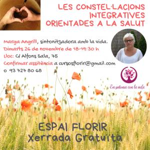 ESPAI FLORIR - Les constel·lacions integratives orientades a la salut